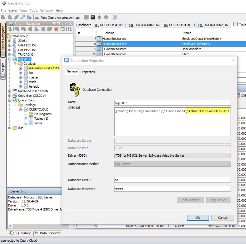 querty_cloud_jtds_databases_connect